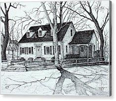 Kappa Sigma House Apsu Acrylic Print by Janet Felts