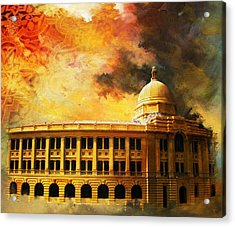 Karachi Port Acrylic Print by Catf