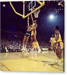 Kareem Abdul Jabbar Hook Acrylic Print by Retro Images Archive