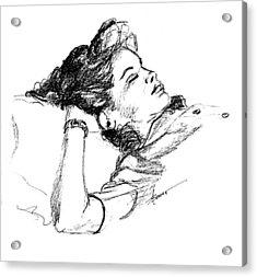 Karen's Nap Acrylic Print