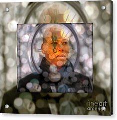 Karim Wade - Greatness Begets Greatness Acrylic Print by Fania Simon