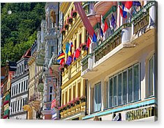 Karlovy Vary Acrylic Print by Mariola Bitner