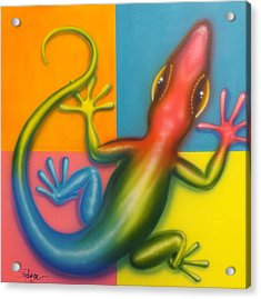 Karma Chameleon Acrylic Print