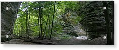 Kaskaskia Canyon Acrylic Print by Gary Lobdell