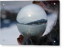 Kaslo Winter Acrylic Print