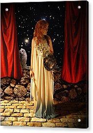 Kat As Athena  Acrylic Print