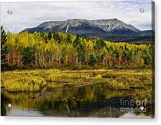 Katahdin Baxter State Park Maine Acrylic Print by Glenn Gordon