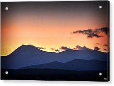 Katahdin Sunset Acrylic Print