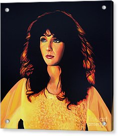 Kate Bush Painting Acrylic Print