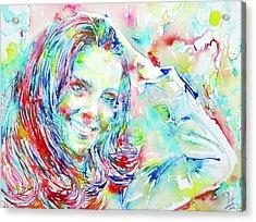 Kate Middleton Portrait.1 Acrylic Print