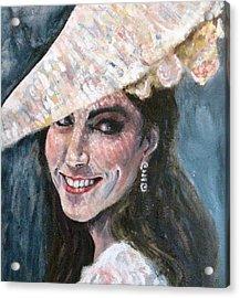 Duchess Of Winsor Acrylic Print by Yvonne  Taylor