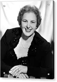 Kate Smith, Ca. 1950s Acrylic Print