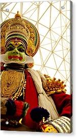 Kathakali Acrylic Print by Vineesh Edakkara