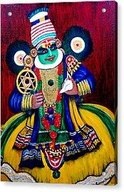 Kathakali..lord Krishna Acrylic Print