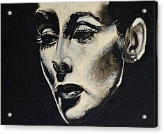 Acrylic Print featuring the painting Katherine by Sandro Ramani