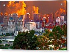 Katrina Storm Hits Cincinnati Acrylic Print
