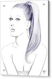 Katy Perry Acrylic Print by Jason Longstreet