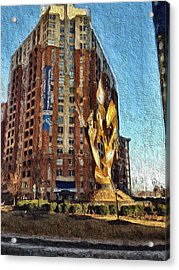 Katyn Memorial In Baltimore Acrylic Print