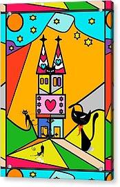 Katzenjammer By Nico Bielow Acrylic Print