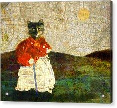 Katzenmutter Acrylic Print