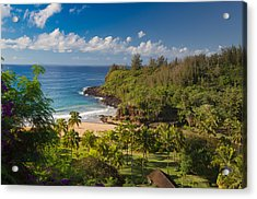 Kauai Allerton Estate Acrylic Print by Sam Amato
