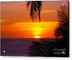 Kauai Sunset Acrylic Print