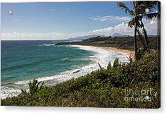 Kauai Surf Acrylic Print