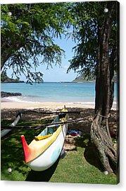 Kauai Watersports Acrylic Print by Dee  Savage