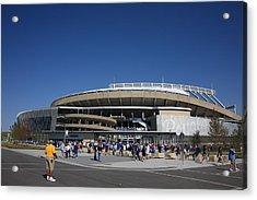 Kauffman Stadium - Kansas City Royals Acrylic Print by Frank Romeo