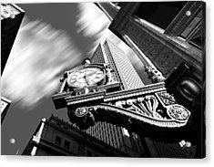 Kaufmann's Clock Acrylic Print