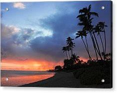 Kawaikui Sunset 2 Acrylic Print