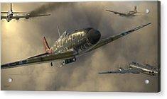 Kawasaki Ki-61-i Tei Acrylic Print
