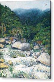 Kaweah River Acrylic Print