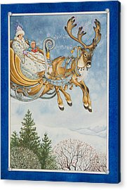 Kay And The Snow Queen Acrylic Print