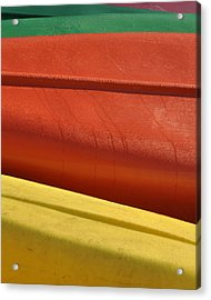 Kayak.1 Acrylic Print by Stuart Hicks