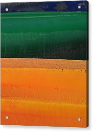Kayak.3 Acrylic Print by Stuart Hicks