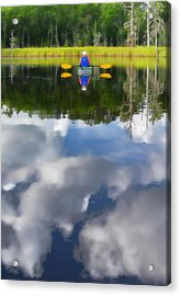 Kayaker Acrylic Print by Dana Sohr