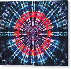 Kazamm Mandala Acrylic Print by Courtenay Pollock