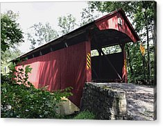 Keefer Station Covered Bridge Acrylic Print