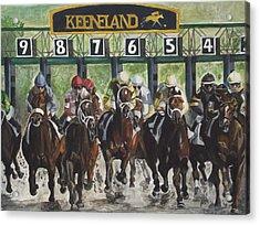 Keeneland Acrylic Print