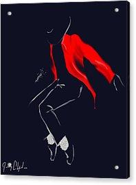 Keep Dancing Acrylic Print