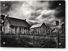 Keep Out Acrylic Print by Robert FERD Frank