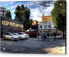 Keep Portland Weird Acrylic Print