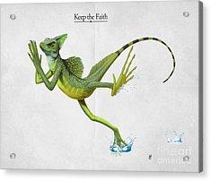 Keep The Faith Acrylic Print