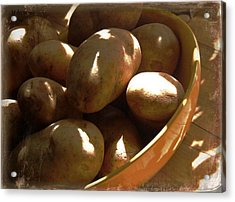 Keep Your Potatoes Acrylic Print by Tg Devore