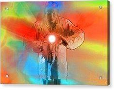 Keeper Of The Light Pop Art Acrylic Print