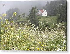 Acrylic Print featuring the photograph Keepers House by Laddie Halupa
