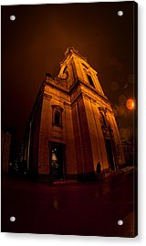 Keeping Out The Darkness Acrylic Print by Tim Gumz