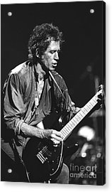 Keith Richards Acrylic Print by Concert Photos