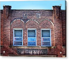 Keith Theater Acrylic Print